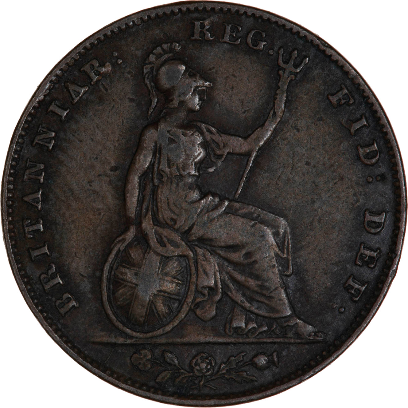 Maundy Twopence (Sterling silver): Photo Coin - Twopence (Maundy), Elizabeth II, Great Britain, 1957