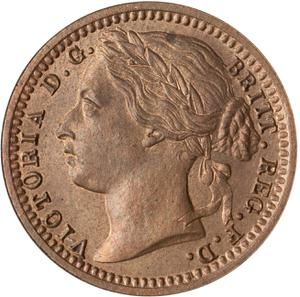 United Kingdom / Third Farthing - obverse photo