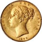United Kingdom / Sovereign 1843 - obverse photo