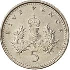 United Kingdom / Five Pence 2000 - reverse photo