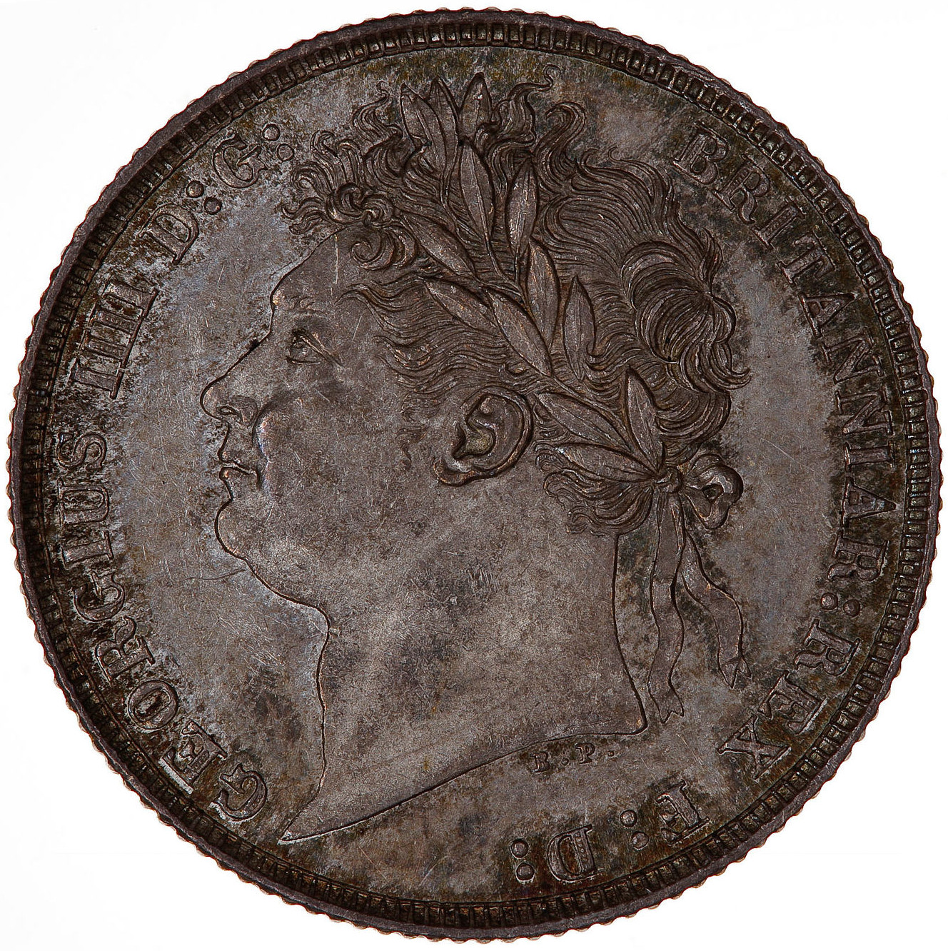 Shilling: Photo Coin - Shilling, George IV, Great Britain, 1821