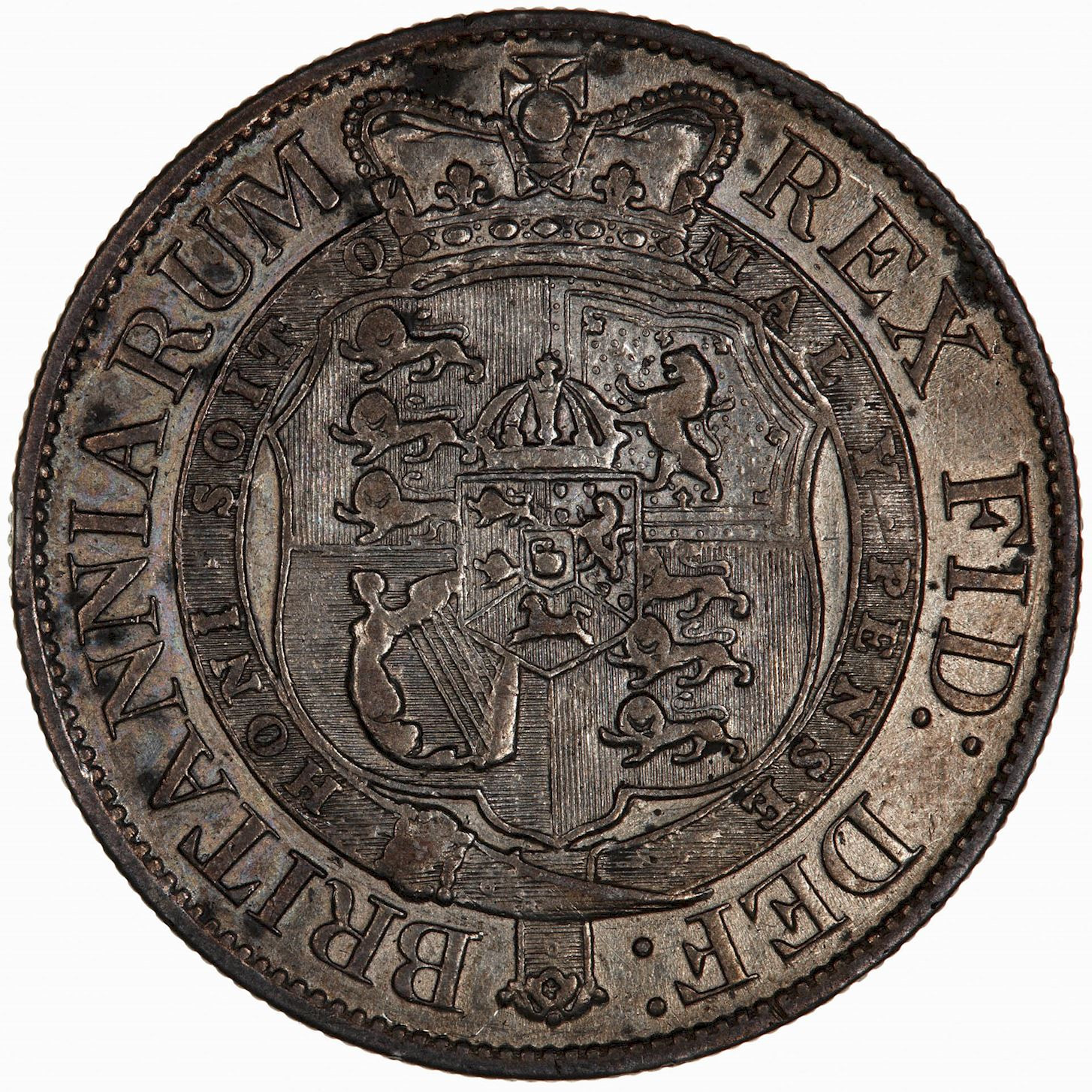 Halfcrown 1818: Photo Coin - Halfcrown, George III, Great Britain, 1818