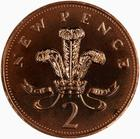 United Kingdom / Two Pence 1973 (Proof only) - reverse photo