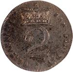 Twopence 1818 (Maundy): Photo Coin - Twopence, George III, Great Britain, 1818