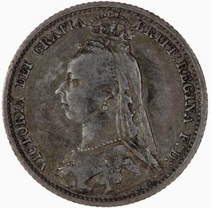 United Kingdom / Sixpence 1890 - obverse photo