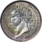 Sixpence 1825: Photo Great Britain 1825 6 pence