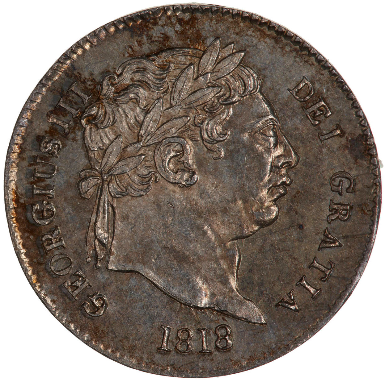 Threepence (Circulating): Photo Coin - Threepence, George III, Great Britain, 1818
