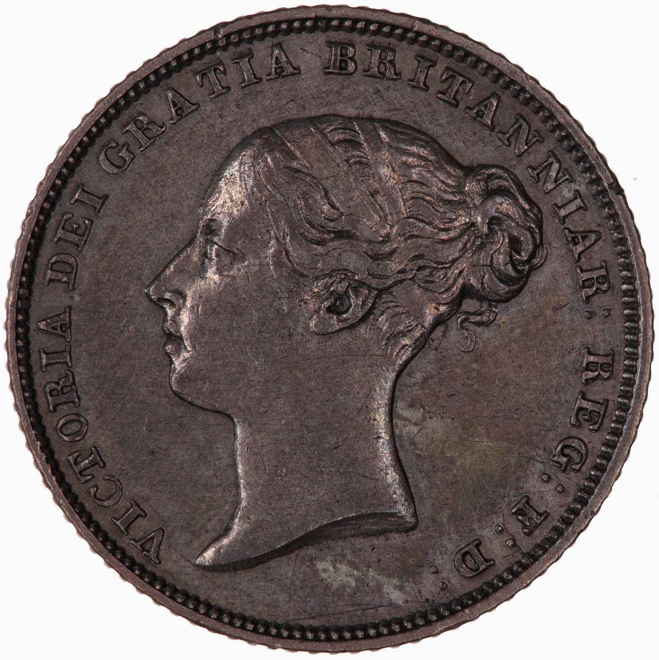 Sixpence: Photo Coin - Sixpence, Queen Victoria, Great Britain, 1838