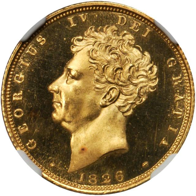 Sovereign (pre-Victorian): Photo Great Britain 1826 sovereign