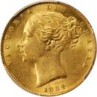 United Kingdom / Sovereign 1864 - obverse photo