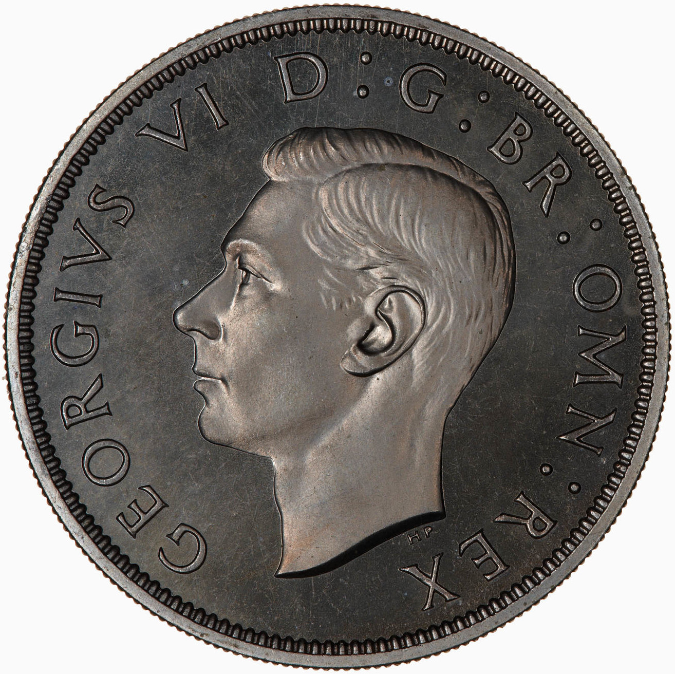 Two Shillings (Florin) 1947: Photo Proof Coin - Florin, George VI, Great Britain, 1947