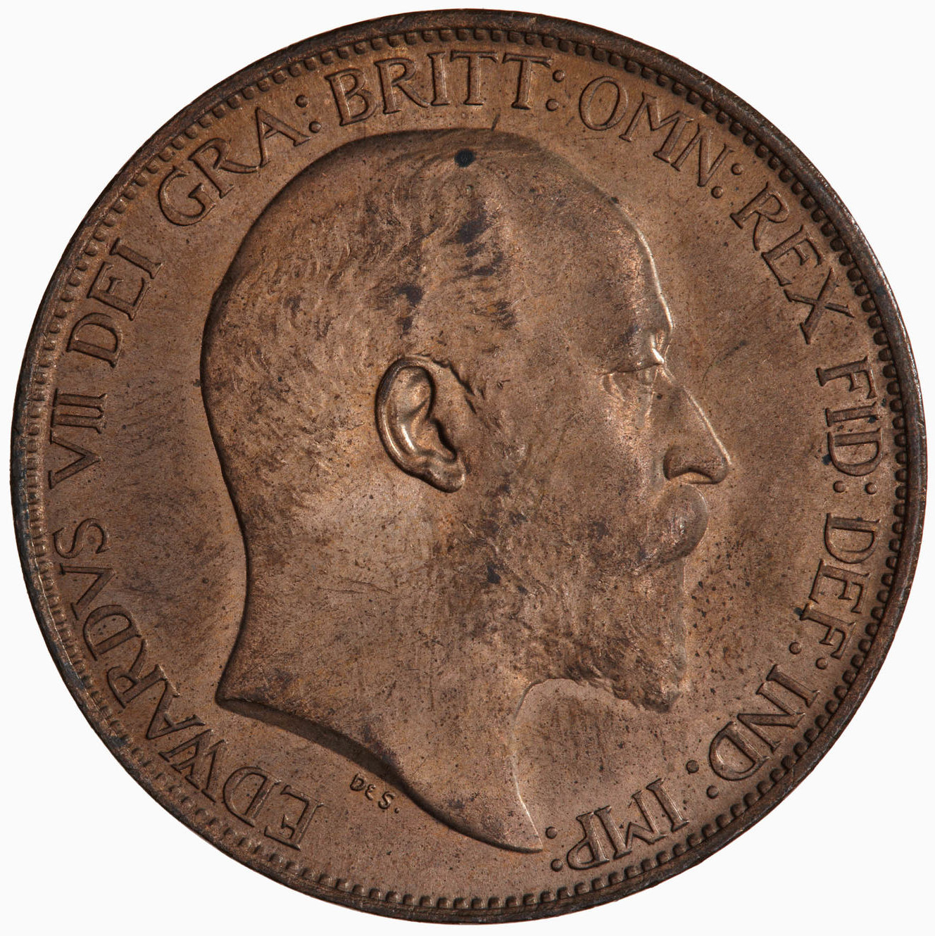 Halfpenny 1904: Photo Coin - Halfpenny, Edward VII, Great Britain, 1904