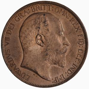 United Kingdom / Halfpenny 1904 - obverse photo