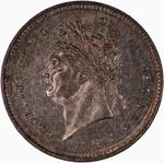 United Kingdom / Twopence 1827 (Maundy) - obverse photo