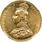 United Kingdom / Sovereign 1888 - obverse photo