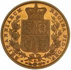 United Kingdom / Sovereign 1883 Shield - reverse photo