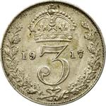 United Kingdom / Threepence 1916 (Circulating) - reverse photo
