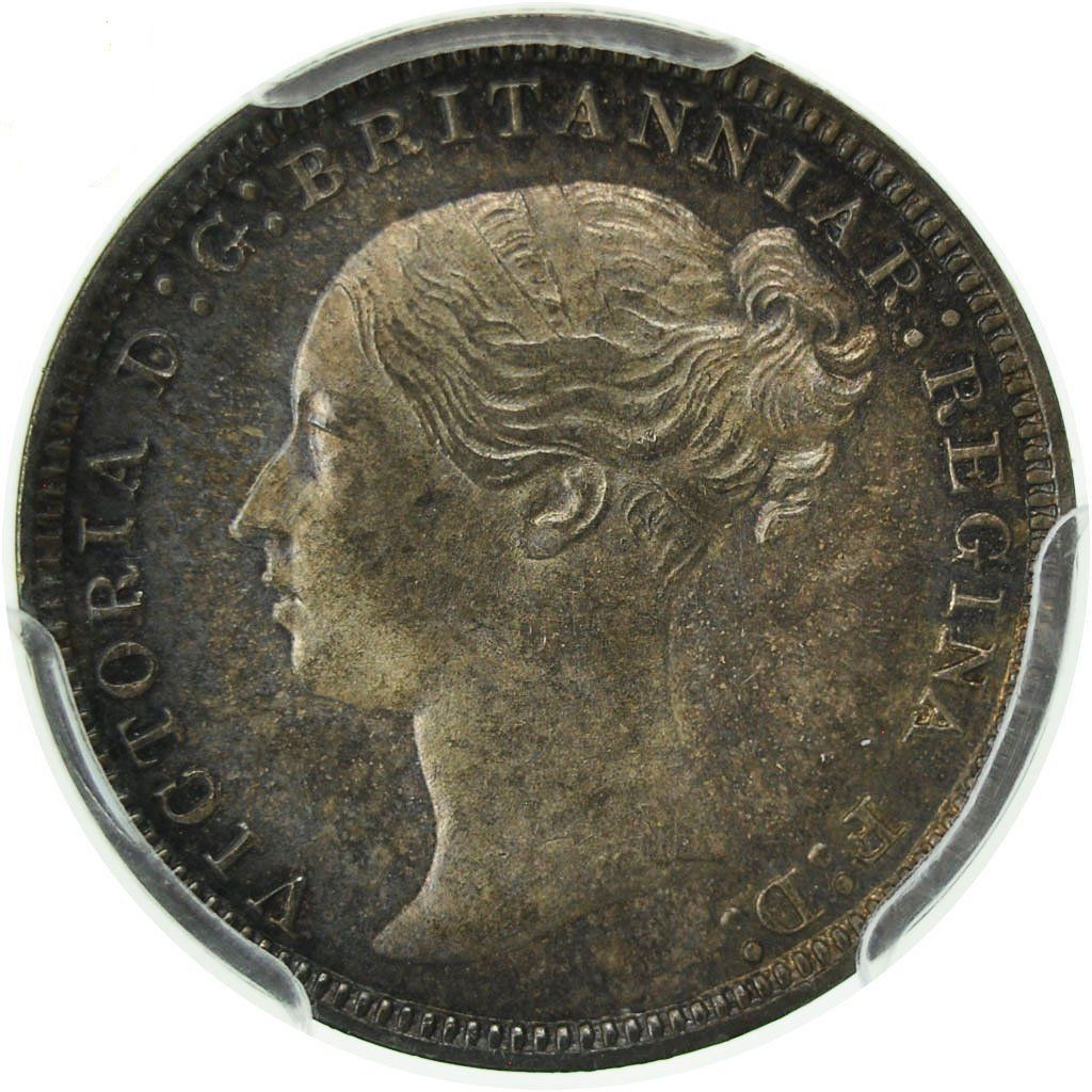 Threepence 1874 (Maundy): Photo Coin, Great Britain, Victoria, 3 Pence, 1874