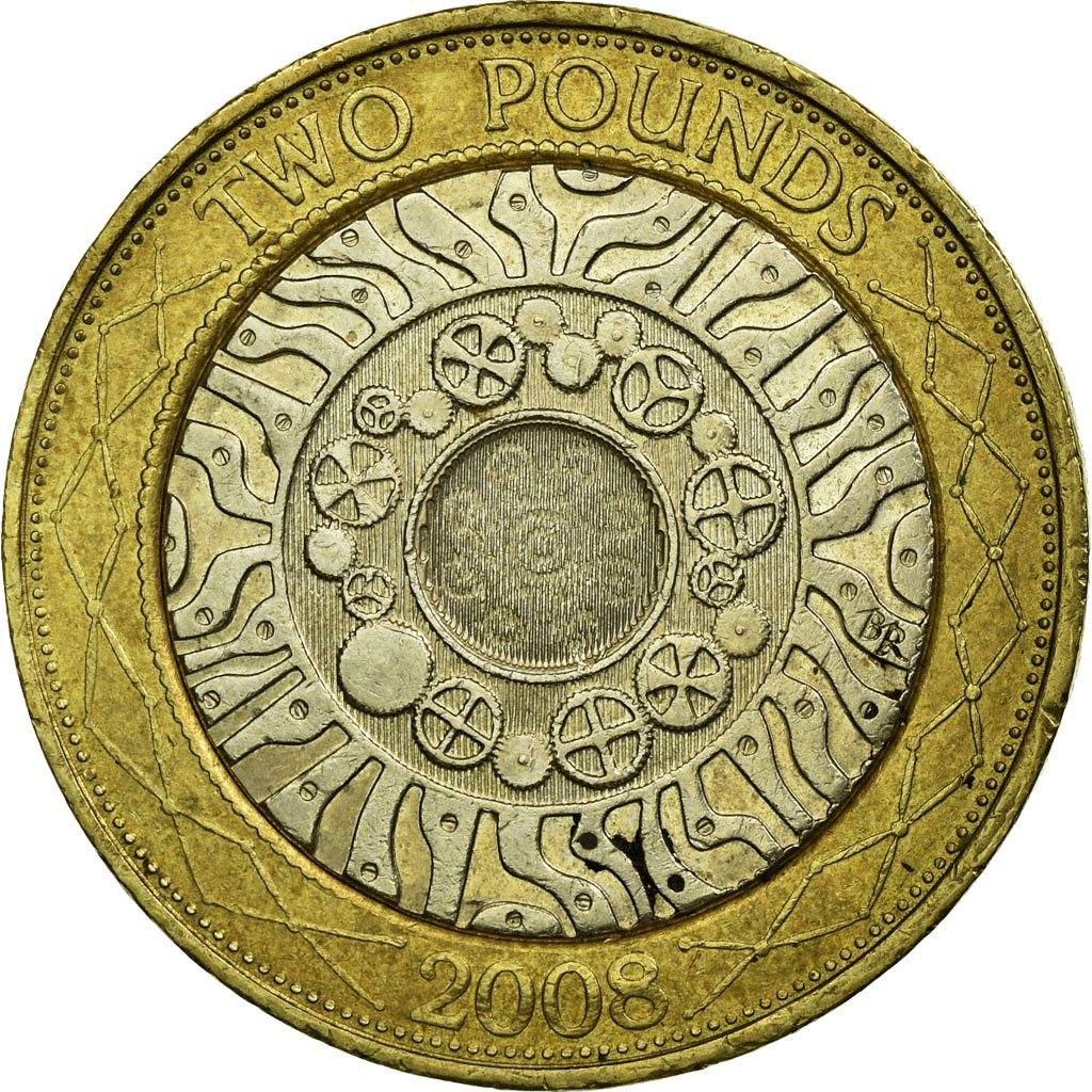 Two Pounds 2008 - Technology: Photo Coin, Great Britain, 2 Pounds, 2008