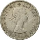 United Kingdom / Two Shillings (Florin) 1960 - obverse photo