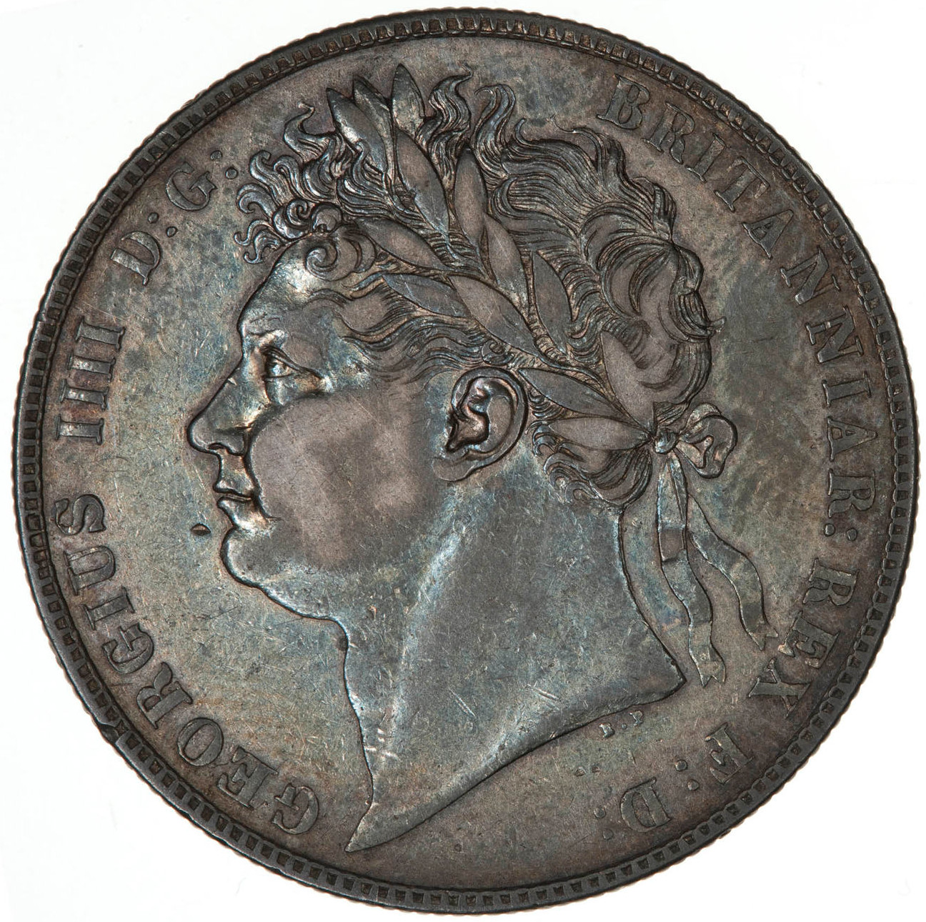 Halfcrown 1823 Second Issue: Photo Coin - Halfcrown, George IV, Great Britain, 1823