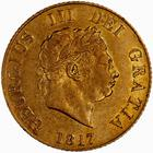 United Kingdom / Half Sovereign 1817 - obverse photo
