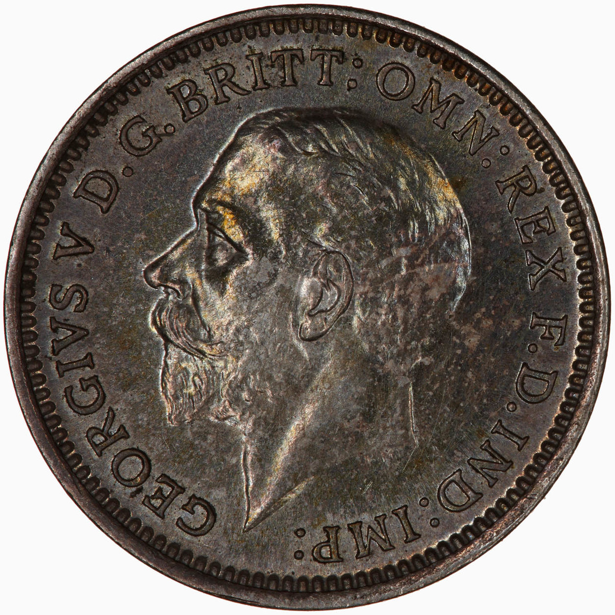 Threepence 1932 (Maundy): Photo Coin - Threepence (Maundy), George V, Great Britain, 1932
