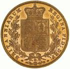 United Kingdom / Sovereign 1882 Shield - reverse photo