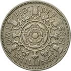 United Kingdom / Two Shillings (Florin) 1965 - reverse photo