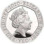 United Kingdom / Twenty Pence 2020 - obverse photo