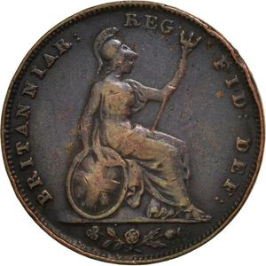 United Kingdom / Farthing 1843 - reverse photo
