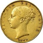 United Kingdom / Sovereign 1844 - obverse photo