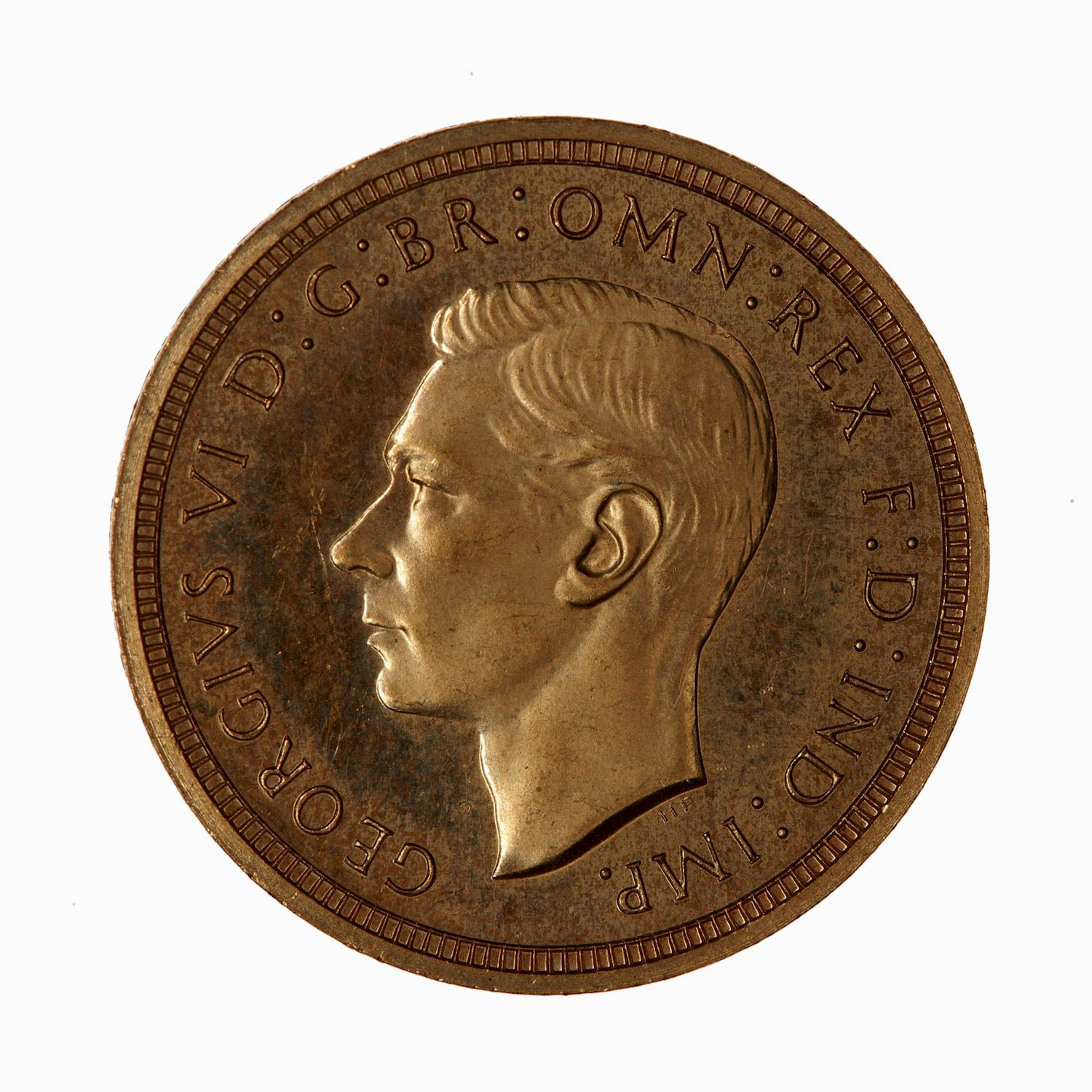 Half Sovereign (Pre-decimal): Photo Proof Coin - Half-Sovereign, George VI, Great Britain, 1937