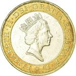 United Kingdom / Two Pounds 1997 Technology - obverse photo