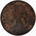 United Kingdom / Halfpenny 1870 - obverse photo