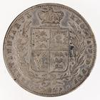Halfcrown 1849: Photo Silver 1/2 crown, Great Britain