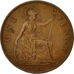 Penny 1927: Photo Great Britain Penny 1927