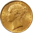 United Kingdom / Sovereign 1865 - obverse photo
