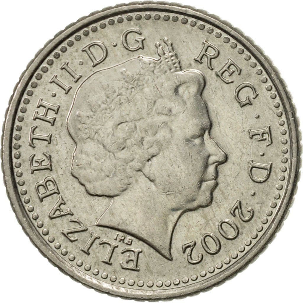 Five Pence 2002: Photo Great Britain, Elizabeth II, 5 Pence, 2002