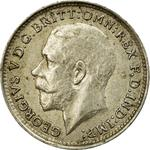 Threepence 1916 (Circulating): Photo Coin - Threepence, George V, Great Britain, 1916