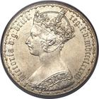 United Kingdom / Florin 1884 - obverse photo