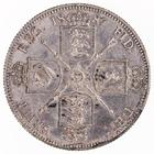 Florin 1887 Jubilee: Photo Silver florin, Great Britain