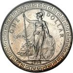 United Kingdom / One Dollar 1898 - obverse photo