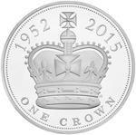 United Kingdom / Five Pounds 2015 Longest Reigning Monarch / Brilliant Uncirculated in presentation folder - reverse photo