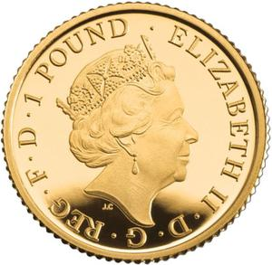 United Kingdom / Gold Twentieth-Ounce (1/20 oz) - obverse photo