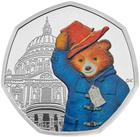 United Kingdom / Fifty Pence 2019 Paddington Bear at St Paul's / Silver Proof FDC - reverse photo