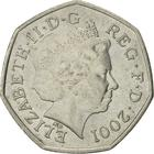 United Kingdom / Fifty Pence 2001 - obverse photo