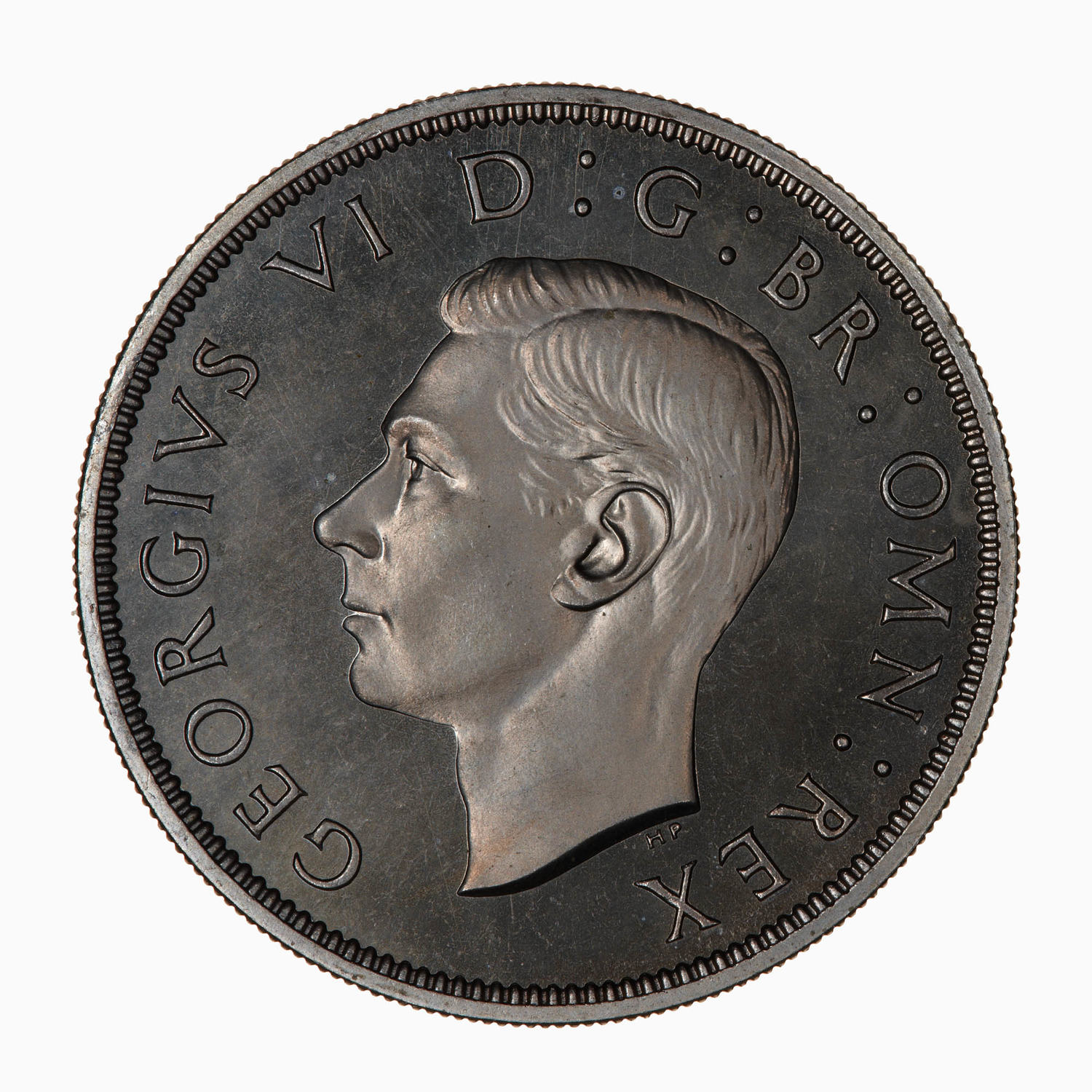 Florin George VI (CuproNickel): Photo Proof Coin - Florin, George VI, Great Britain, 1947