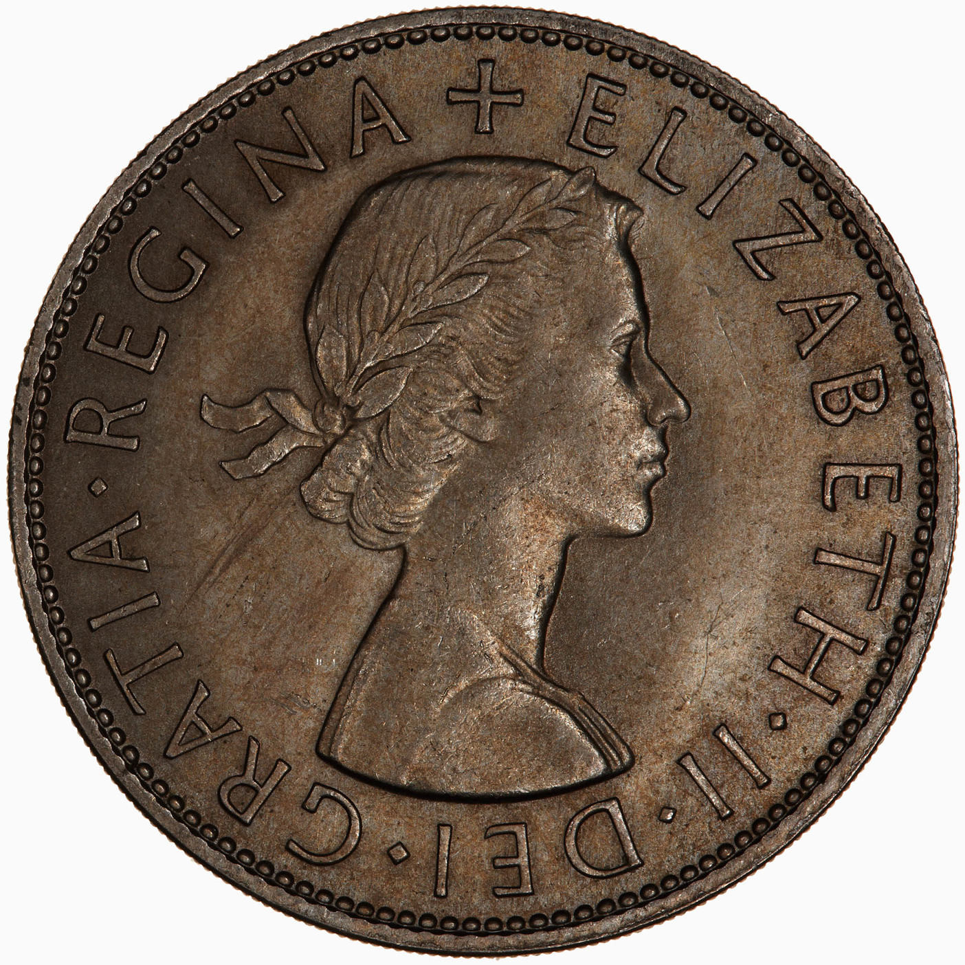 Halfcrown 1966: Photo Coin - Halfcrown, Elizabeth II, Great Britain, 1966