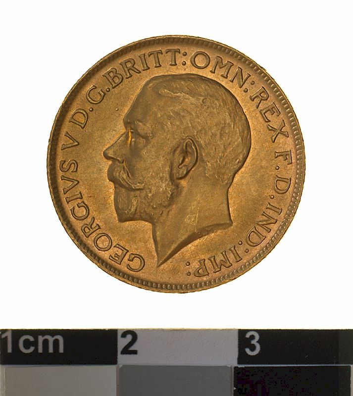 Sovereign 1928: Photo Specimen Coin - Sovereign, Australia, 1928